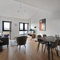 Beautiful 2 bedroom apartment in a converted mill