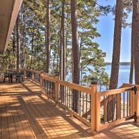 Waterfront Getaway with Furnished Deck and Grill!