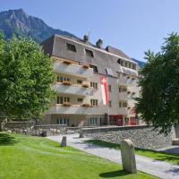 Schlosshotel - Self Check-In Hotel, hotel in Brig