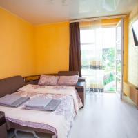 1к квартира с окнами в пол для четверых у Крокуса и Снежкома