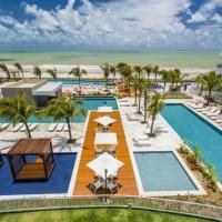Qavi - Flat em Resort Beira Mar Cotovelo #InMare224