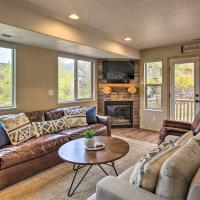 Modern Mtn Condo with Hot Tub Access and Balconies