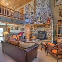 Amenity-Packed Cabin with Game Room and Mtn Views
