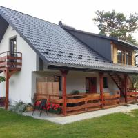 Krzywa Sosna - Domek nad Zalewem, hotelli kohteessa Susiec