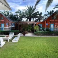 family cabin, hotel a Menaẖemya