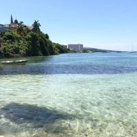 Contemporary Ocean view 2bed Carib Ocho Rios Condo