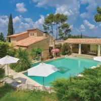 Villa with 4 bedrooms in Orgon with private pool enclosed garden and WiFi 30 km from the beach