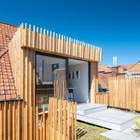 La camuche de Rene Desclee, duplex neuf de 75 m2 avec une grande terrasse au sud et au calme