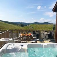 Stags View with Hot Tub near Glenshee, Perthshire