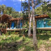Casa Bela Vista na natureza e pertinho da praia, hotel in Taboquinhas