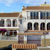 Apartment with 3 bedrooms in Mazarron with wonderful sea view shared pool furnished terrace
