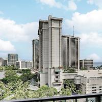 Aqua Palms Waikiki - Pool, Grill, Gym - Walk to Beach Hotel Room