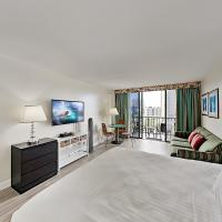 Aqua Palms Waikiki - Ocean View - 1 Block to Beach Hotel Room