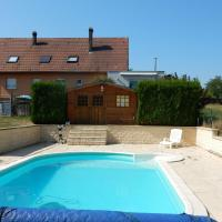 Modern holiday home in Phalsbourg with swimming pool, hotel in Phalsbourg