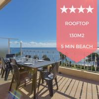 KIKILOUE RARE Rooftop terrace with breathtaking view over the bay