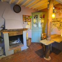 Holiday Home in Bagni di Lucca near Lake with Views & Fireplace