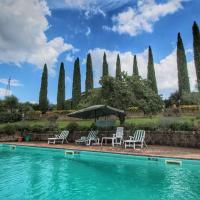 Cozy Holiday Villa with private pool near Ficulle, hotell i Ficulle