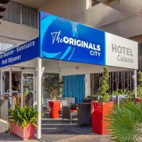 The Originals City, Hôtel Galaxie, Nice Aéroport、サン・ローラン・デュ・ヴァールのホテル