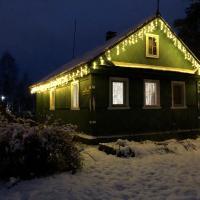 Гостевой домик с настоящей печью, отель в Медвежьегорске