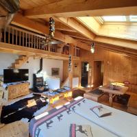 Ferienhaus & Ferienwohnung Wiñay Wayna Gotschna Blick Klosters, hotel in Klosters Serneus