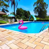 Casa de Campo Lazer Completo Paraíso de Reservas Naturais em Sp, hotel em Ibiúna