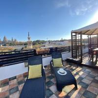 Plaza españa penthouse