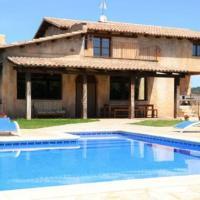 Prat de Comte Villa Sleeps 11 with Pool and Air Con, hotel en Prat de Comte