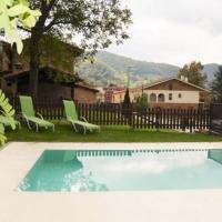 Villa in Sant Pau de Seguries Sleeps 8 with Pool