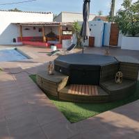 villa avec piscine et jaccuzi, hôtel à Pia près de: Aéroport de Perpignan - Rivesaltes - PGF