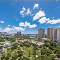 Waikiki Studio-Free Parking-Million Dollar View!