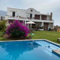 Cieneguilla Casa de Campo 6 dormitorios con piscina, hotel in Cieneguilla