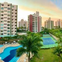 Boulevard Riviera Flat - VISTA MAR E CLUBE, hotel em Riviera de São Lourenço