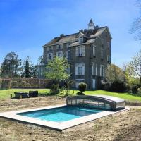 Luxury Manor with Swimming Pool in Nassogne