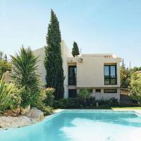 Modern villa in Cournonterral, with large garden, private pool and terrace