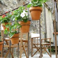 Hill-View Holiday Home in Bagni di Lucca with Terrace & Garden