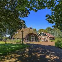 Lovely Villa in Rheezerveen with Pond