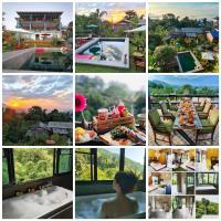 บ้านภูคำฟ้า ดอยปู่ไข่ Baan Phu Kham Fah, hotel in Chiang Rai