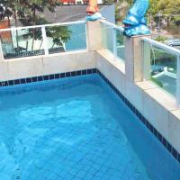 Estrutura Grande e Confortável, 10 camas, piscina e privacidade ao lado da Barra