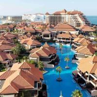 Luxury apartment in Anantara The Palm Dubai Resort , pool , private beach , free parking