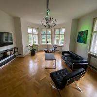 Braunova vila - Luxusní apartmán se zahradou