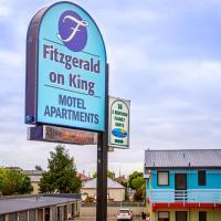 Fitzgerald on King, viešbutis mieste Timaru