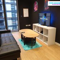 80s RETRO 1 Bedroom Serviced Apartment Canary Wharf Perfect for Corporate Business Families & Leisure Guests
