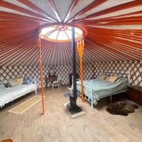 Beautiful Rural Yurt with Fire pit near Bruton