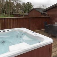 Birch Lodge 19 with Hot Tub Newton Stewart