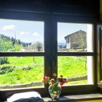 House with 2 bedrooms in Grandas de Salime with wonderful mountain view enclosed garden and WiFi