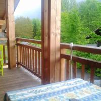 Appartement de 2 chambres a Samoens avec magnifique vue sur la montagne jardin amenage et WiFi