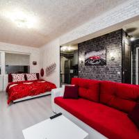 021. Стильная однушка с красным диваном и балконом у м. Кутузовская
