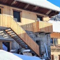 Le Villard - Chalet familial pour 14 personnes, hotel in Saint-Jean-d'Arves