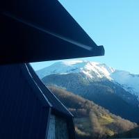 Chalet de 2 chambres a Ger de Boutx avec magnifique vue sur la montagne terrasse amenagee et WiFi