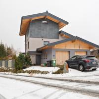 Gemütliches Panoramaferienhaus Breitmoos mit Sauna